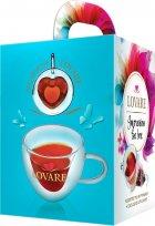 Подарунковий набір чаю Lovare в пірамідках Impression tea box з фірмовою чашкою (4820198877231) - зображення 3