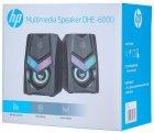 Акустична система HP DHE-6000 LED RGB Black - зображення 6