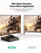 Кабель відео Ugreen HDMI 2.1 8K 3D 48Gbps HDR 1М Black (HD140) - зображення 5