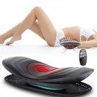 Масажер для попереку витягує з вібрацією і підігрівом Lumbar massager - зображення 4