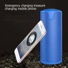 Бездротова Bluetooth колонка Zealot S8 Original з функцією Power Bank + зручний чохол кріплення з карабіном для носіння з собою і для велосипеда Синя - зображення 3