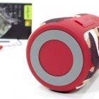 Бездротова Bluetooth колонка Zealot S32 Червоний камуфляж - зображення 5