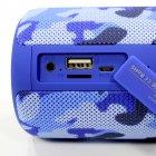 Бездротова Bluetooth колонка Zealot S32 Синій камуфляж - зображення 5