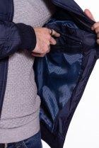 Куртка стеганая Time of Style 187P143 XL Темно-синий - изображение 6
