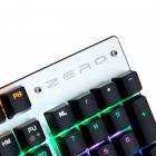 Механічна ігрова клавіатура з підсвічуванням Metoo Zero X08, світчі чорні - зображення 7