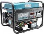 Генератор бензиновый Konner&Sohnen с ручным и электро запуском (KS 3000E) - изображение 2