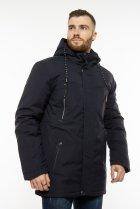 Куртка с капюшоном Time of Style 191P953 48 Темно-синий - изображение 3