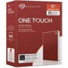 """HDD ext 2.5"""" USB 1.0 TB Seagate One Touch Red (STKB1000403) - зображення 1"""