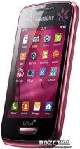 Мобильный телефон Samsung Wave Y S5380D La Fleur Wine Red - изображение 2