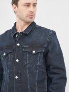 Джинсова куртка Calvin Klein Jeans Foundation Denim Jacket J30J316194-1BJ XL Blue Black (8719853202975) - зображення 4