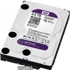 Жесткий диск Western Digital Purple 2TB 64MB 5400rpm WD20PURX 3.5 SATA III - изображение 2
