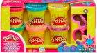 Hабор пластилина Play-Doh Блестящая коллекция из 6 баночек (A5417) - изображение 1