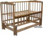 Кроватка Колисковий світ Малятко Бук Орех лесной (100010032) - изображение 1