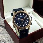Наручний годинник Megalith 8086M Blue-Cuprum чоловічі кварцові + коробка брендована - зображення 2