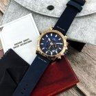 Наручний годинник Megalith 8086M Blue-Cuprum чоловічі кварцові + коробка брендована - зображення 6