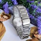 Женские кварцевые часы Mini Focus Silver наручные классические на стальном браслете + коробка (1095-0061) - изображение 3