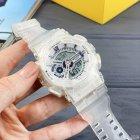 Наручные часы Sanda 298 White мужские комбинированные + подарочная коробка - изображение 4