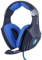 Наушники Sades SA-910 Spellond 7.1 Bass Vibration Stereo Gaming Headset (SA910-B-BL) - изображение 1
