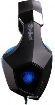 Наушники Sades SA-910 Spellond 7.1 Bass Vibration Stereo Gaming Headset (SA910-B-BL) - изображение 2