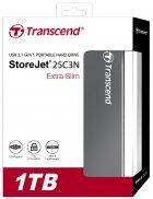 """Жорсткий диск Transcend StoreJet 25C3 1TB 5400rpm TS1TSJ25C3N 2.5"""" USB 3.0 External Iron Gray - зображення 10"""
