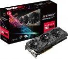 Asus PCI-Ex Radeon RX580 ROG Strix OC 8GB GDDR5 (256bit) (1360/8000) (DVI, 2 x HDMI, 2 x DisplayPort) (ROG-STRIX-RX580-O8G-GAMING) - зображення 7