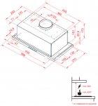Вытяжка PERFELLI BI 6412 A 950 I LED - изображение 7