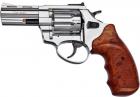 """Револьвер флобера STALKER 3 """"Нікель. Матеріал рукояті - пластик Wood - изображение 1"""