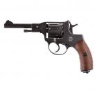 Пневматичний пістолет Gletcher NGT Nagant Наган газобалонний CO2 100 м/с - зображення 1