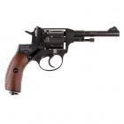 Пневматичний пістолет Gletcher NGT Nagant Наган газобалонний CO2 100 м/с - зображення 2