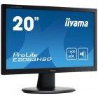 Монітор для комп'ютера iiyama E2083HSD-B1 - зображення 2