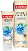 Зубная паста Colgate Древние секреты безопасное отбеливание с морскими водорослями и солью 75 мл (6920354818639) - изображение 2