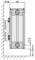 Радиатор стальной боковой COPA 22 тип 300x1600 - изображение 6