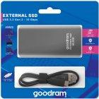 Goodram HL100 512GB USB 3.2 Type-C TLC Black (SSDPR-HL100-512) External - изображение 4