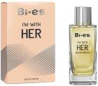 Туалетная вода для женщин Bi-es Im With Her Woman Armani - Because it's You 100 мл (5902734841889) - изображение 1