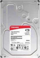 """Жорсткий диск Toshiba N300 4TB 7200rpm 128MB HDWQ140UZSVA 3.5"""" SATAIII - зображення 1"""