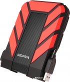 "Жорсткий диск ADATA DashDrive Durable HD710 Pro 3TB AHD710P-3TU31-CRD 2.5"" USB 3.1 External Red - зображення 2"