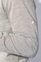 Рубашка классическая светлая Time of Style 333F013 XXXL Серый - изображение 5