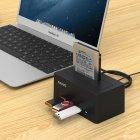 """Док-станція Maiwo для HDD 2.5""""/3.5"""" SATA/SSD + 3xUSB 3.0 (K308H) - зображення 8"""