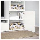 Коробка з кришкою IKEA TJENA 25x35x20 см білий чорний рожевий 403.982.15 - зображення 4