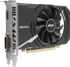 MSI PCI-Ex GeForce GT 1030 Aero ITX OC 2GB DDR4 (64bit) (1189/2100) (DVI, HDMI) (GT 1030 AERO ITX 2GD4 OC) - зображення 2