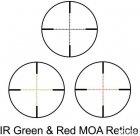 Оптичний приціл Barska Level 4-16x50 мм (IR MOA R/G) + кільця (925758) - зображення 3