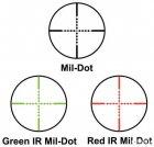 Оптичний приціл Barska SWAT-AR LR 6-36x52 mm (IR Mil-Dot R/G) + кріплення (925761) - зображення 3