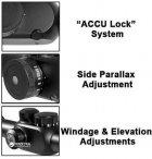 Оптичний приціл Barska Tactical 6.5-20x40 мм FFP (IR Mil-Dot) + кільця (925764) - зображення 6