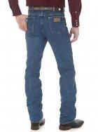 Джинсы мужские Wrangler 936 Cowboy Cut Slim Fit (облегающие) Stonewashed W36 L32 Голубые (6063263632) - изображение 2