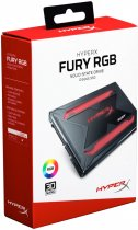 "Kingston SSD HyperX Fury RGB 480GB 2.5"" SATAIII TLC (SHFR200/480G) - зображення 12"
