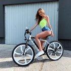 Електровелосипед OIO CITY BIKE Model X White - зображення 7
