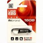 Флеш-накопичувач Mibrand USB2.0 Aligator 16GB Grey (MI2.0/AL16U7G) - зображення 2