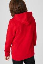 Толстовка с капюшоном для мальчика C&A 158-164 размер красная 2099217 - изображение 3