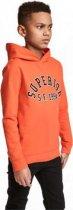 Худи H&M 0582053 158-164 СМ Оранжевый 58845 - изображение 2