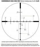 Оптичний приціл Vortex Diamondback 4-12x40 (BDC) (926064) - зображення 7